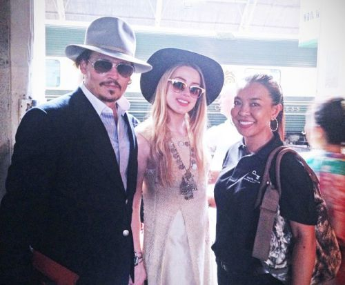 Johnny Depp Teya Suchira